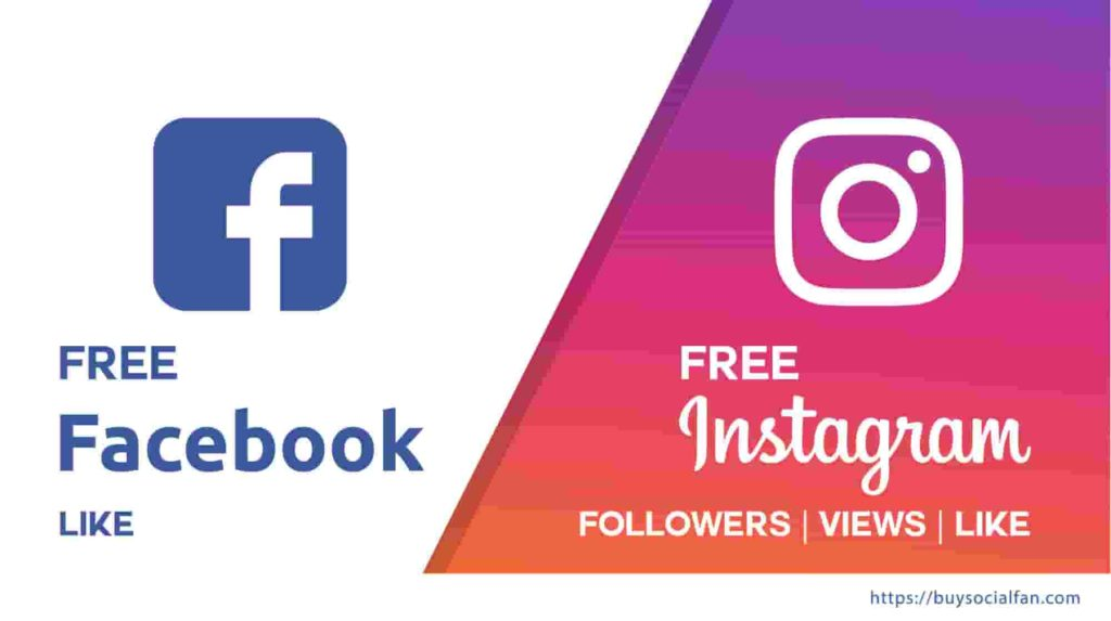 Free Facebook Likes, Free Instagram Likes, Free Instagram Views, Free social media services
